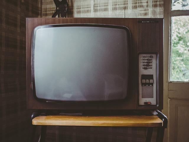 TV kijken op de camping